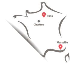 Carte de France ACTULIA